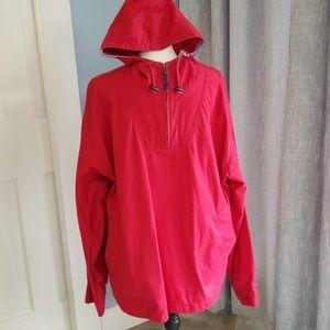 Eddie Bauer 100% cotton pullover with hood